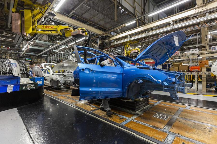 Nissan Qashqai production - Sunderland