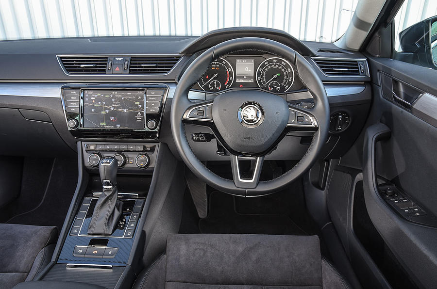 Skoda Superb dashboard