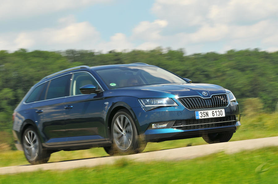 187bhp Skoda Superb Estate 2.0 TDI 4x4