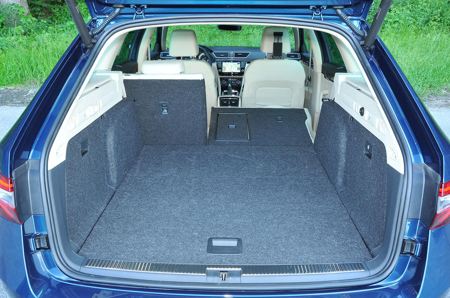 Skoda Superb Estate seating flexibility