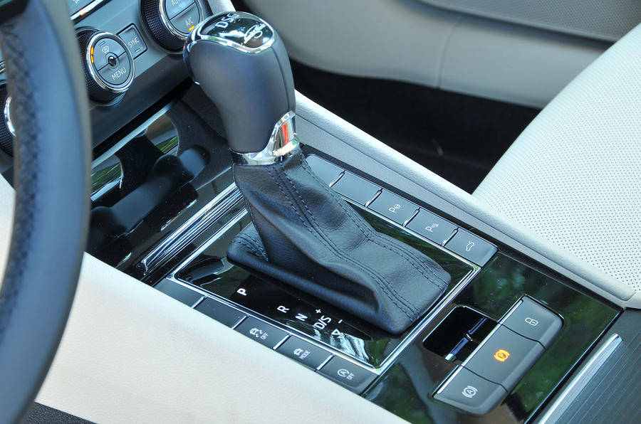 Skoda Superb DSG gearbox