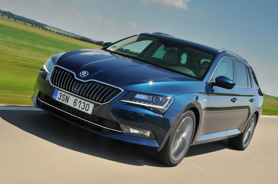 Skoda Superb Estate Car Leasing Deals
