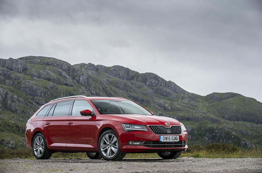 4 star Skoda Superb Estate