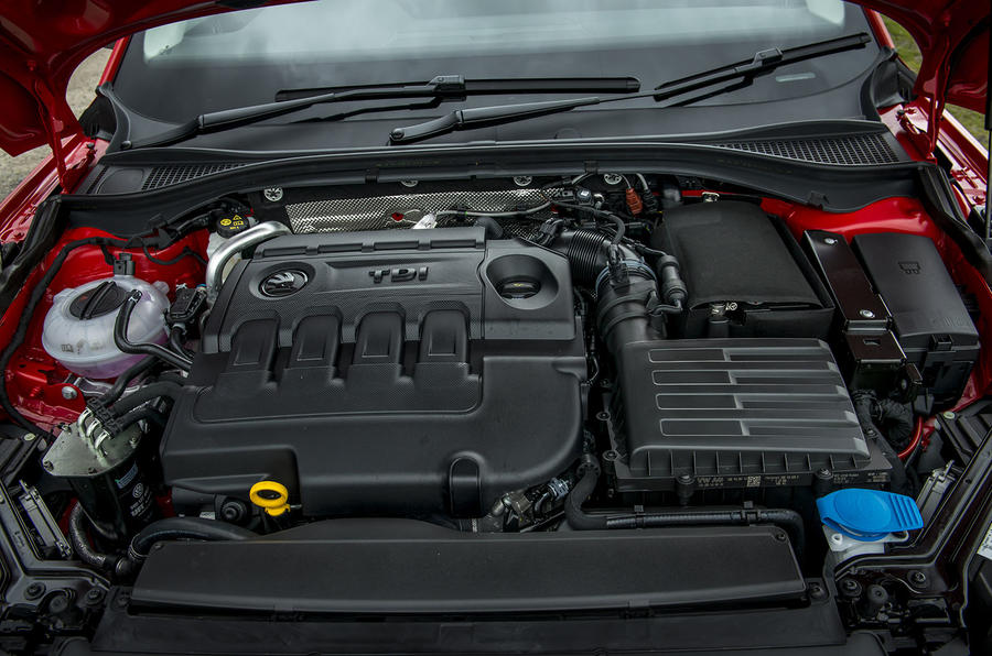 1.6-litre Skoda Superb diesel engine