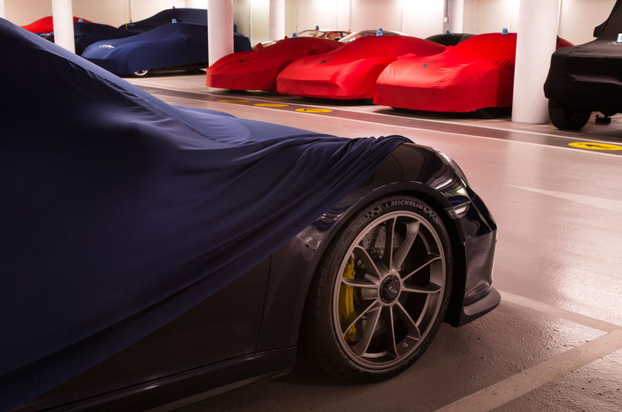 London's secret supercar store
