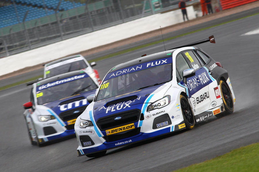 BTCC 2017: Sutton avoids Silverstone chaos to retain title lead ...