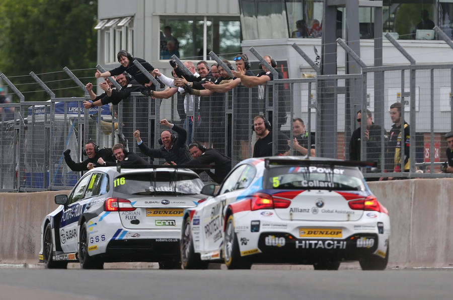 Ash Sutton took BTCC race win at Oulton Park