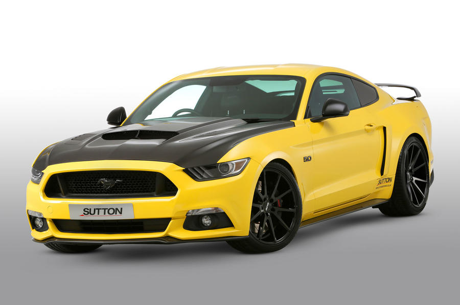 Clive Sutton Ford Mustang