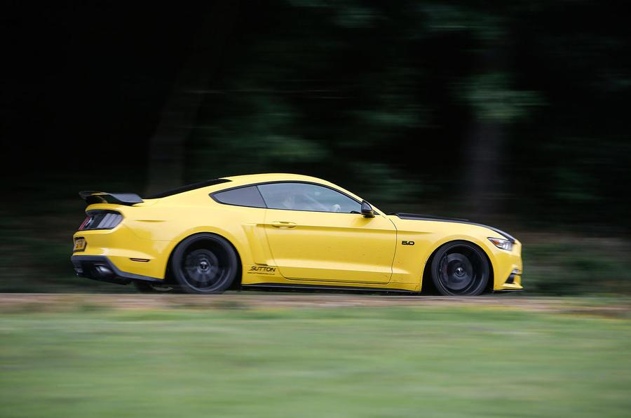 700bhp Ford Mustang Sutton CS700