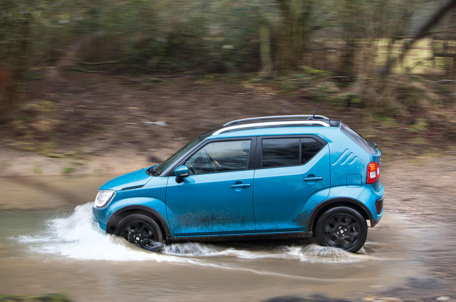 off roading in the suzuki ignis 4x4 autocar. Black Bedroom Furniture Sets. Home Design Ideas