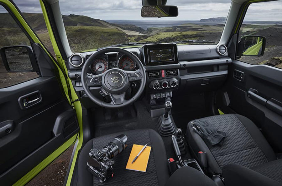 Suzuki Jimny 2019 official reveal photos interior