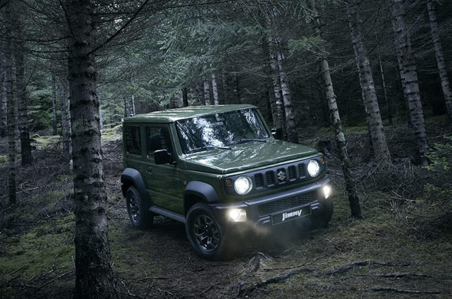 2019 suzuki jimny makes appearance at paris motor show. Black Bedroom Furniture Sets. Home Design Ideas