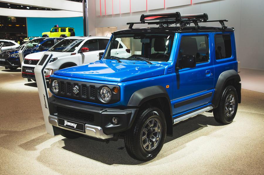 Next Generation Suzuki Jimny >> 2019 Suzuki Jimny makes appearance at Paris motor show | Autocar