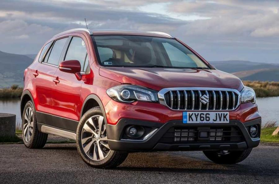 2017 suzuki s cross facelift revealed autocar. Black Bedroom Furniture Sets. Home Design Ideas