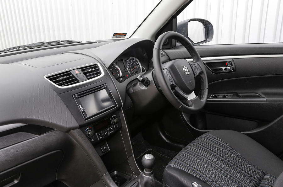 Suzuki Swift front cabin
