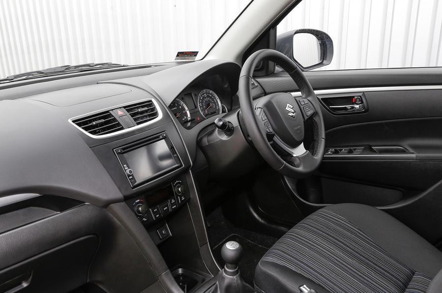 Suzuki Swift front cabin