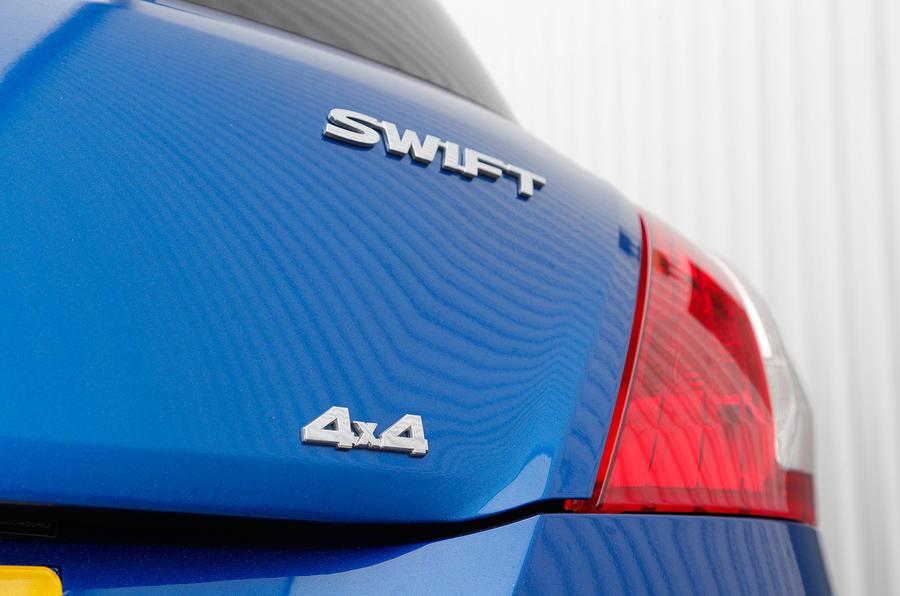 Suzuki Swift 4x4 badging