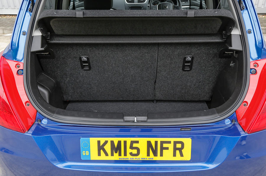 Suzuki Swift 4x4 boot space