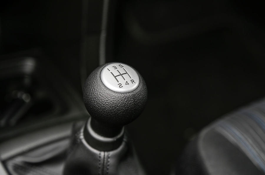 Suzuki Swift manual gearbox