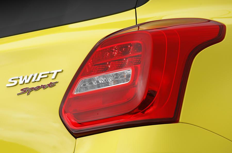 Suzuki Swift Sport 2018 review rear lights