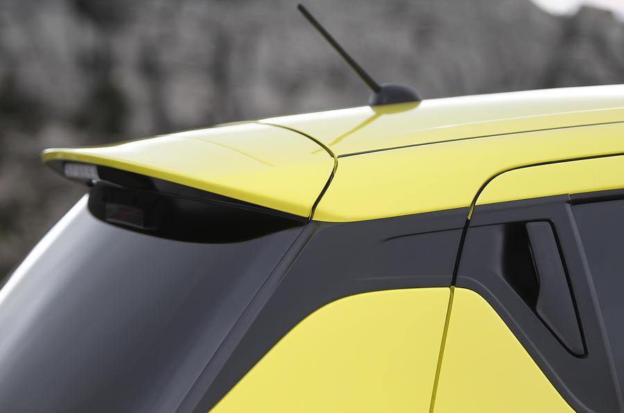 Suzuki Swift Sport 2018 review spoiler