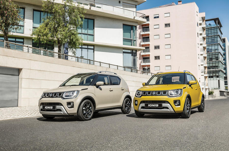 Suzuki Ignis 2020 facelift official images - lead
