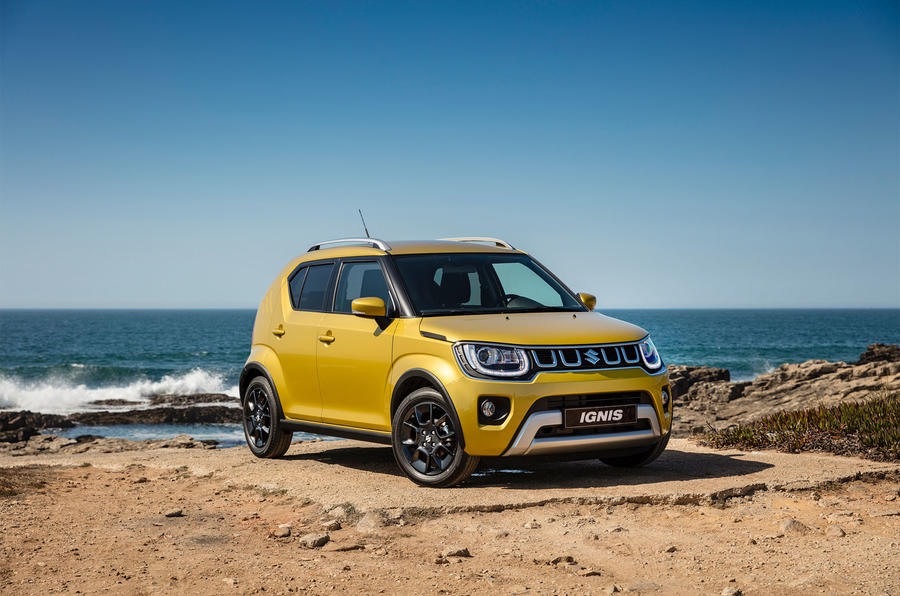 Suzuki Ignis 2020 facelift official images - static