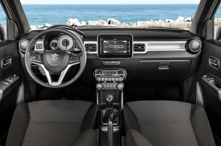 Suzuki Ignis 2020 facelift official images - interior
