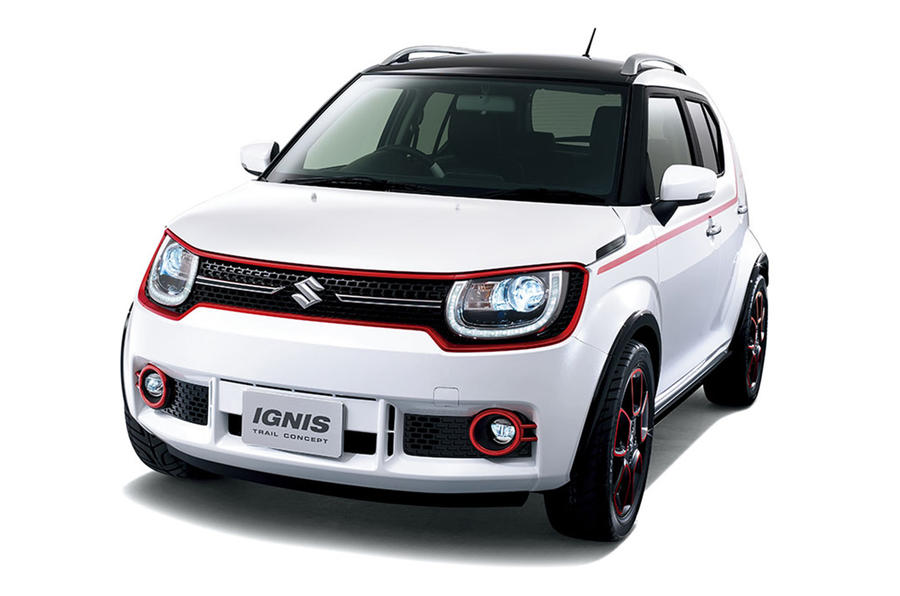 2017 suzuki ignis city car suv likely to get hybrid autocar. Black Bedroom Furniture Sets. Home Design Ideas