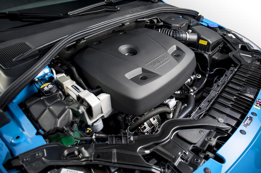 2.0-litre Polestar tuned engine