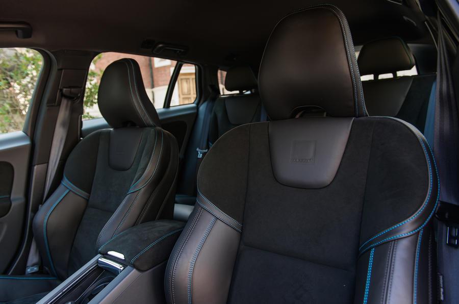 Volvo V60 Polestar sport seats
