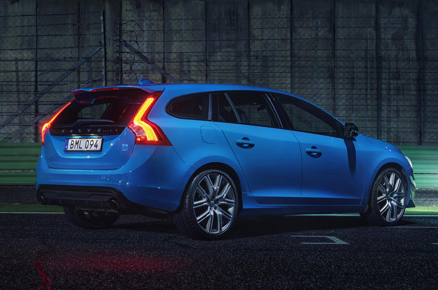 2016 volvo v60 polestar revealed autocar. Black Bedroom Furniture Sets. Home Design Ideas