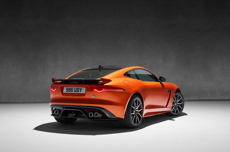 new 200mph jaguar f-type svr revealed | autocar