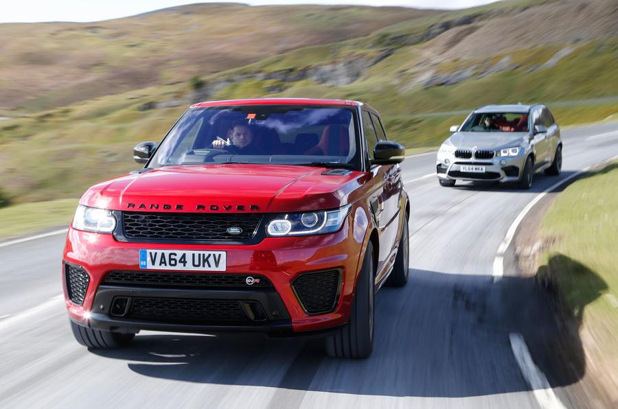 Range Rover Sport Svr Vs Bmw X5 M And Alpina Xd3 Biturbo Autocar