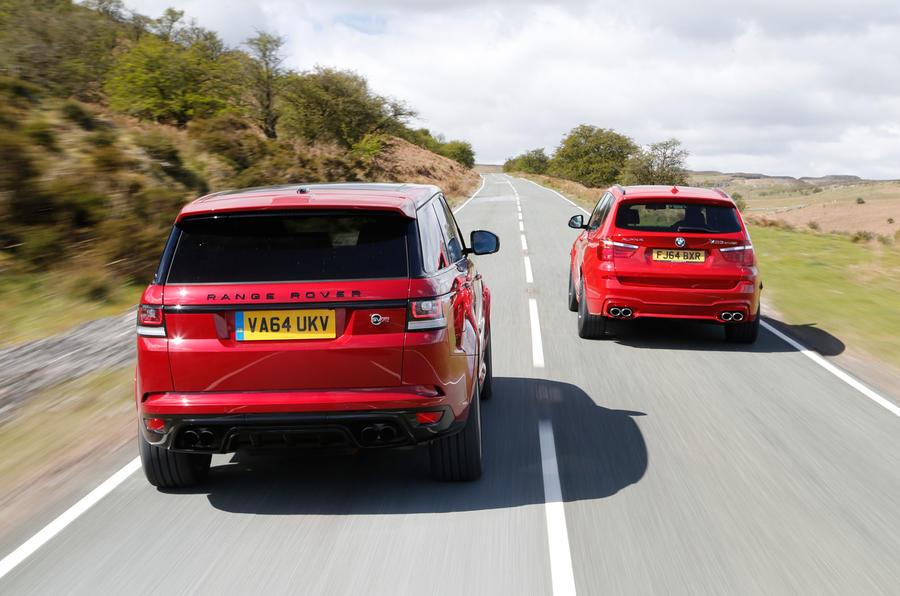 Range Rover Sport Svr Vs Bmw X5 M And Alpina Xd3 Biturbo