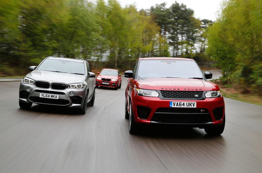 Range Rover Sport SVR Vs BMW X M And Alpina XD Biturbo Autocar - X5 alpina