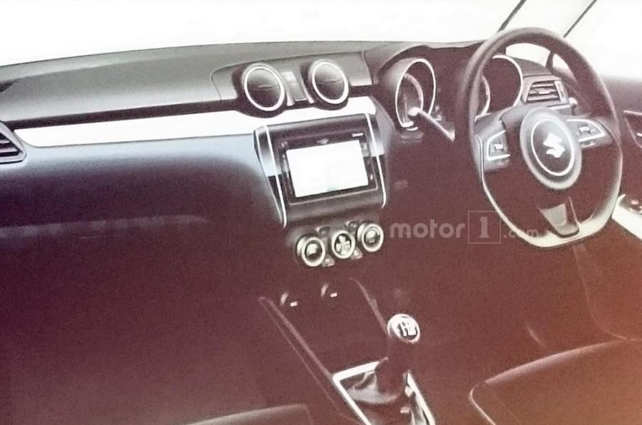 2017 Suzuki Swift interior