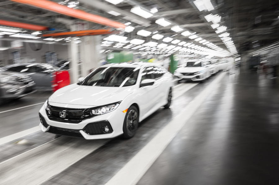 Honda Civic production line - Swindon