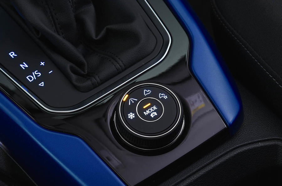 Volkswagen T-Roc 2.0 TSI driving modes