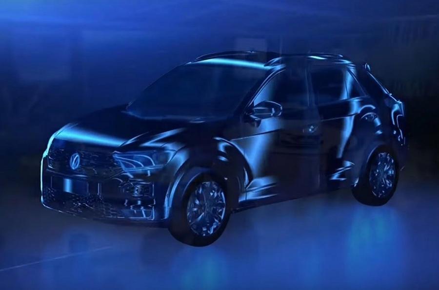 Volkswagen T-Roc small SUV Nissan Qashqai rival