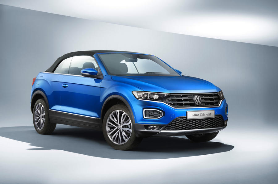2019 Volkswagen T-Roc Cabriolet press shots