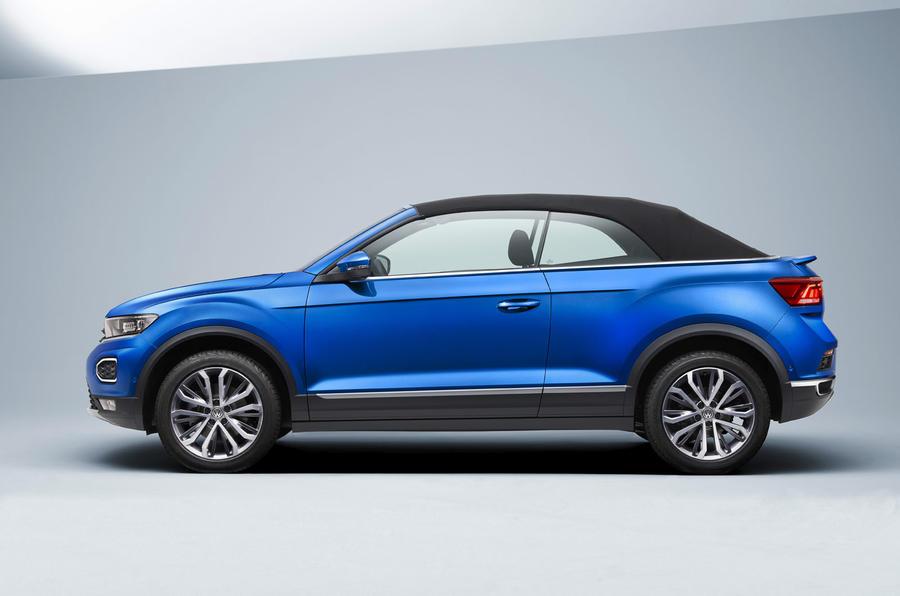 2019 Volkswagen T-Roc Cabriolet press shots