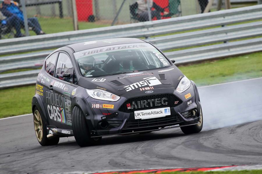 Time Attack - racing the stopwatch in a 345bhp Ford Fiesta ST | Autocar