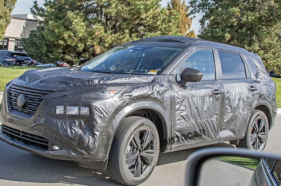 new nissan rogue hints at styling of next xtrail  autocar