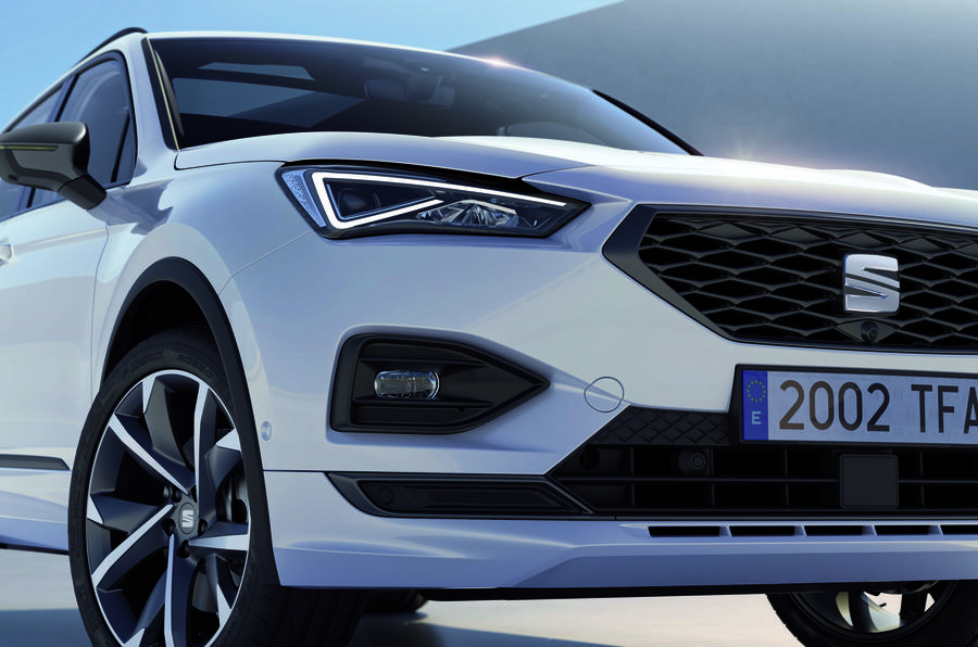 2020 Seat Tarraco FR Sport - front