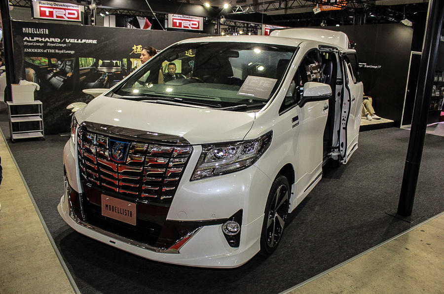 Alphard Royal Lounge SP