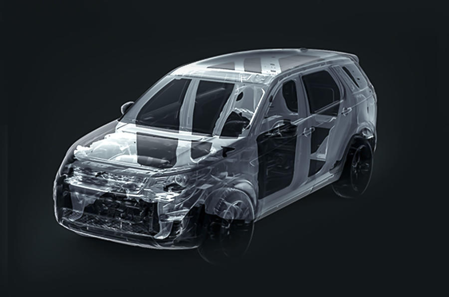 Bare structure of Discovery Sport could form basis of Tata model