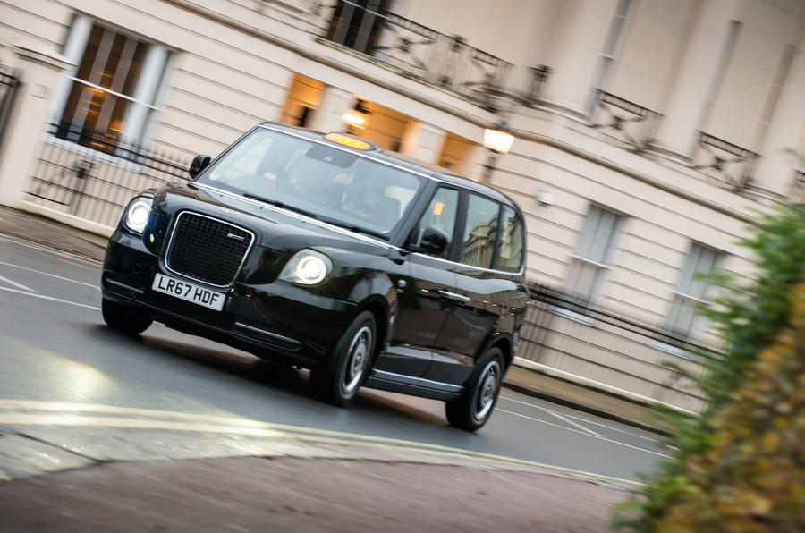 First drive: LEVC TX taxi on the streets of London | Autocar