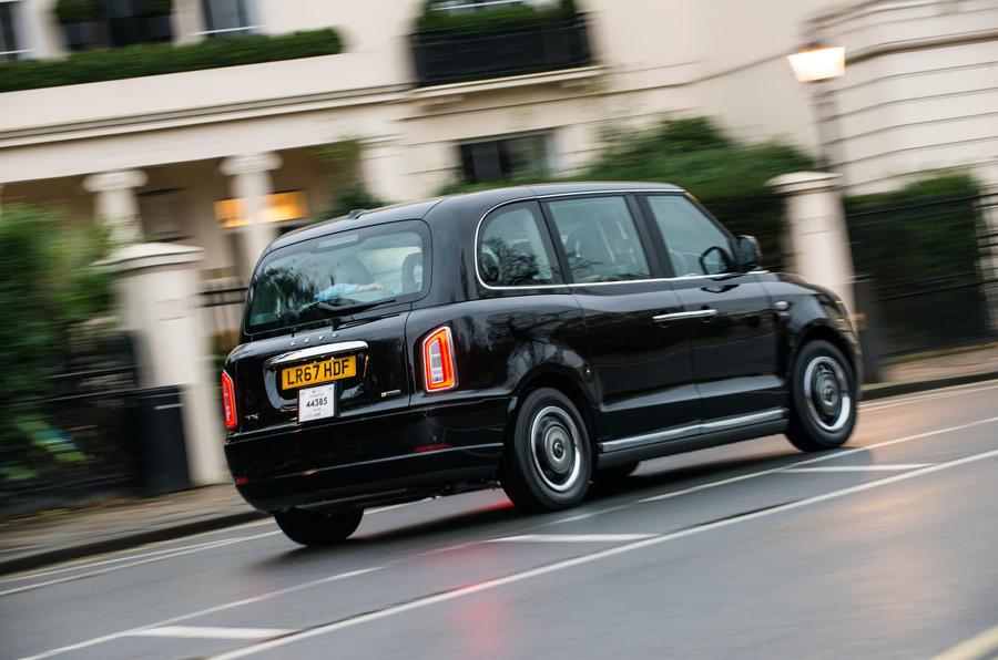 LEVC Taxi London rear