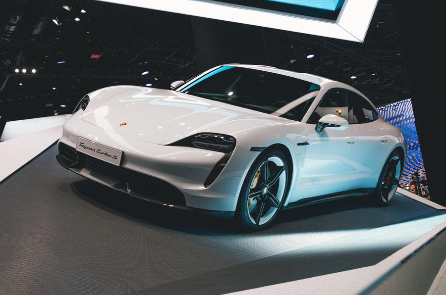 Porsche Taycan 2020 official reveal - front